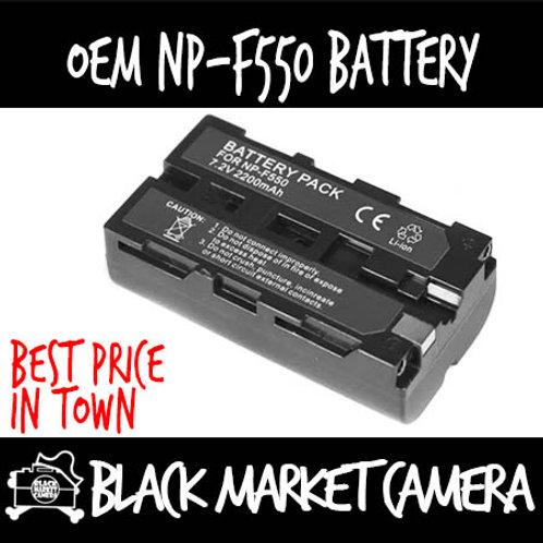OEM NP-F550 Battery