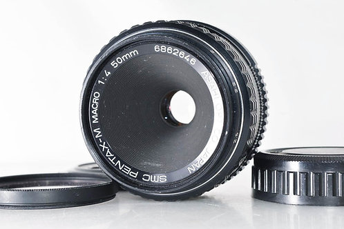 Pentax SMC-M 50mm F4 Macro PK Mount (Used)