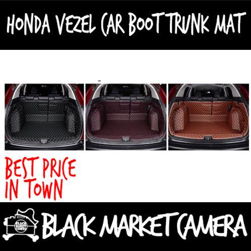 Honda Vezel car boot trunk mat