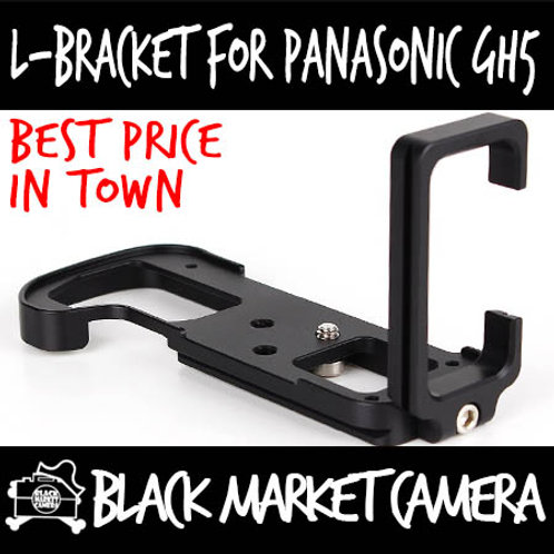 L-Bracket Quick Release Plate for Panasonic GH5