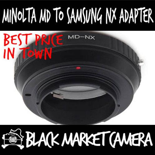 Minolta MD Lens to Samsung NX Body Adapter