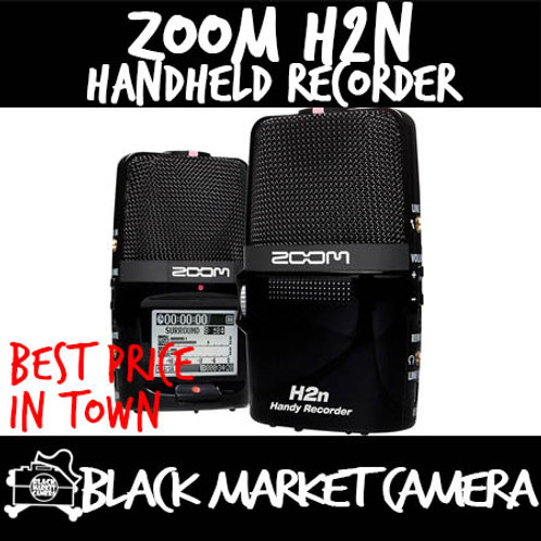 ZOOM H2n 2-Input / 4-Track Portable Handy Recorder