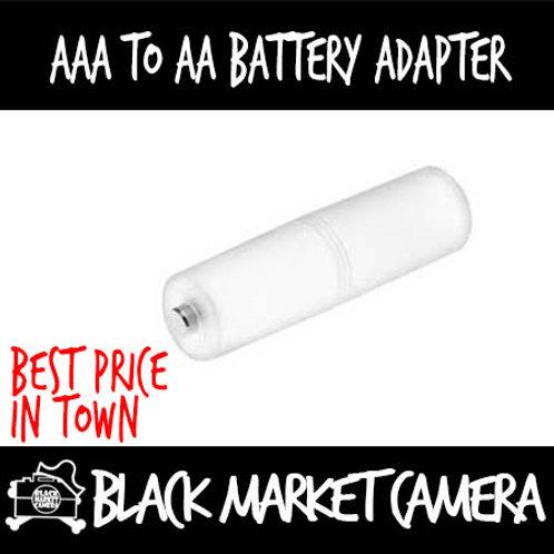 AAA to AA Battery Adapter