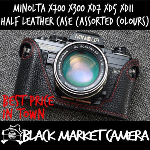 Funper Minolta X700 X300 XD7 xd5 xd11 Leather Half Case