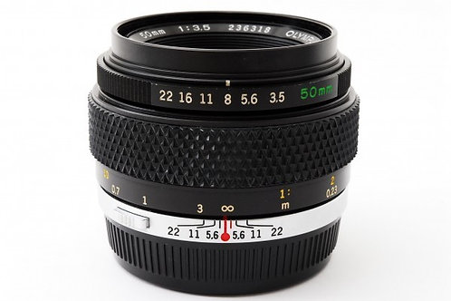 Olympus OM 50mm F3.5 Zuiko Auto-Macro Black Nosed (used)