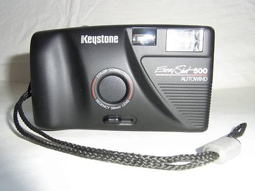 Keystone Easyshot 500 Focus Free Film Compact (used)