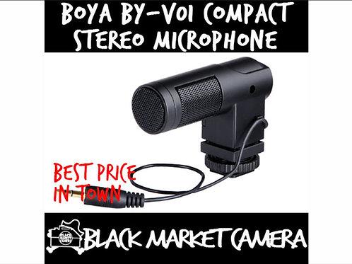 BOYA BY-V01 Compact Stereo Microphone