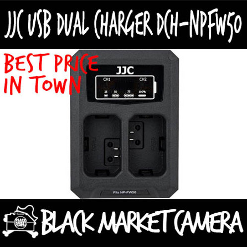 JJC DCH-NPFW50 USB Charger for Sony NP-FW50