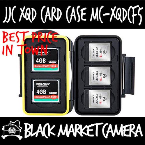 JJC MC-XQDCF5 Memory Card Case (2CF 3 XQD)