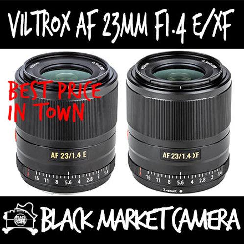 Viltrox AF 23mm F1.4 Lens Sony E Mount (DX)
