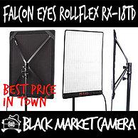 Falcon Eyes RX-18T RX-18TD Bi-Colour Roll-Flex LED Flexible Video Lighting