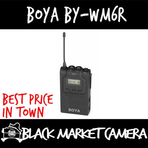 Boya BY-WM6R UHF Receiver with 48 Channels