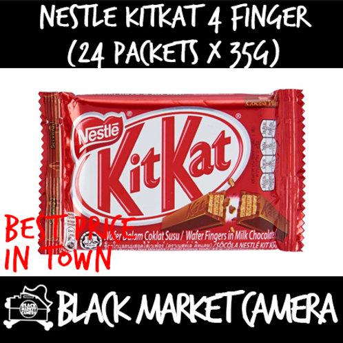 Nestle KitKat 4 Finger (Bulk Quantity, 24 Packets x 35g)