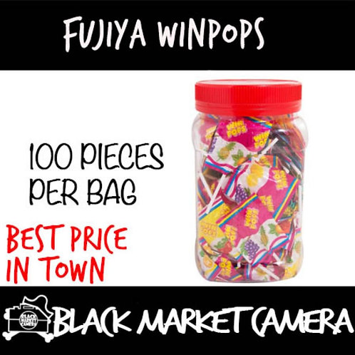 Fujiya Winpops 100pcs/Bag [Assorted Flavours] [Snacks] [Candy]