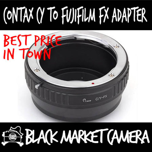 Contax CY Lens to Fuji FX Mount Body Adapter