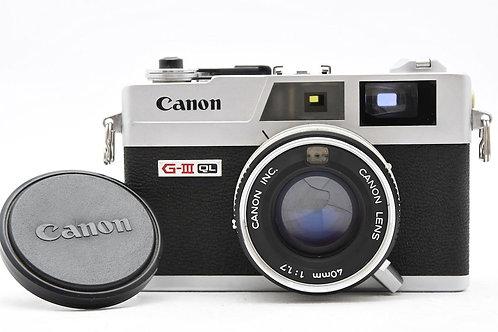 Canon Canonet QL17 GIII Film Rangefinder (Used)