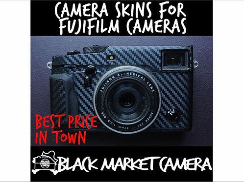 Camera Skins for Fujifilm GFX-R50, X-Pro2, X-T2/T3/T20/T30, X100F