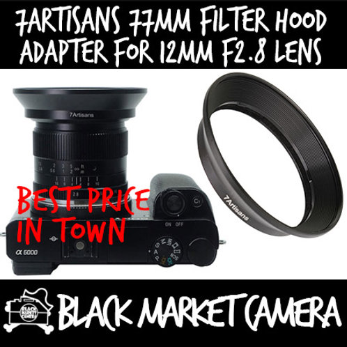 7artisans Photoelectric 77mm Filter Adapter for 12mm F2.8 UWA