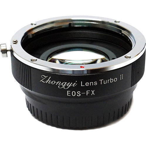 Mitakon Zhongyi Canon EF to Fuji FX Camera Lens Turbo