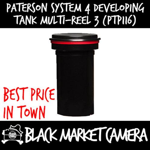 Paterson System 4 Developing Tank - Multi Reel 3 (PTP116)