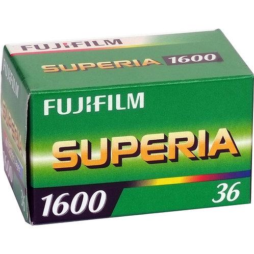 Fujifilm Superia 1600 36 Exp Colour Negative Film (135)
