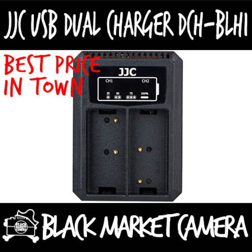 JJC DCH-BLH1 USB Charger for Olympus BLH-1