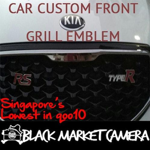 Car Custom Front Grill Emblem