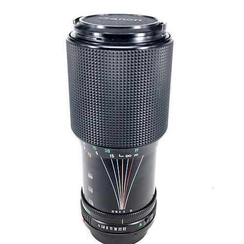 Canon New FD 70-210mm f4 Macro