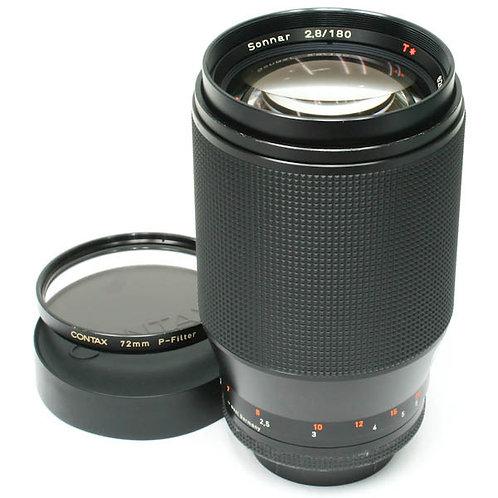Contax Carl Zeiss Sonnar 180mm F2.8 T* AEG CY (used)