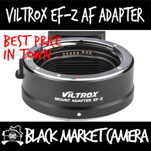 Viltrox EF-Z AF Adapter for EF Lens to Nikon Z Camera (Electronic Contacts)