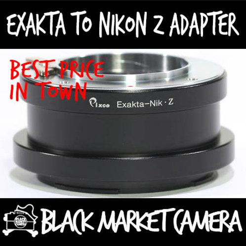 Exakta Lens to Nikon Z Mount Camera