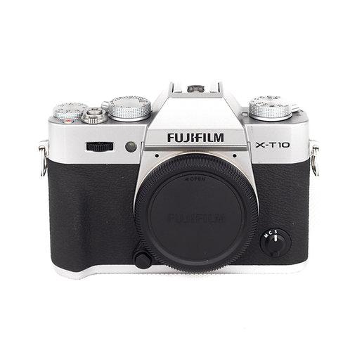 Fujifilm X-T10 (16.3MP) X Mount Camera (Chrome)
