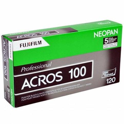 FUJIFILM Neopan Acros 100 Black & White Film (120mm)