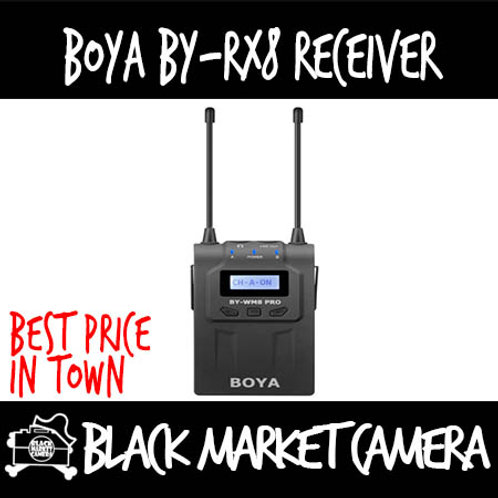 Boya BY-RX8 PRO 48 Channel Receiver