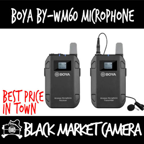 Boya BY-WM60 Wireless Microphone