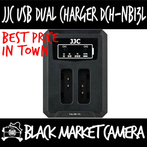 JJC DCH-NB13L USB Charger for Canon NB-13L