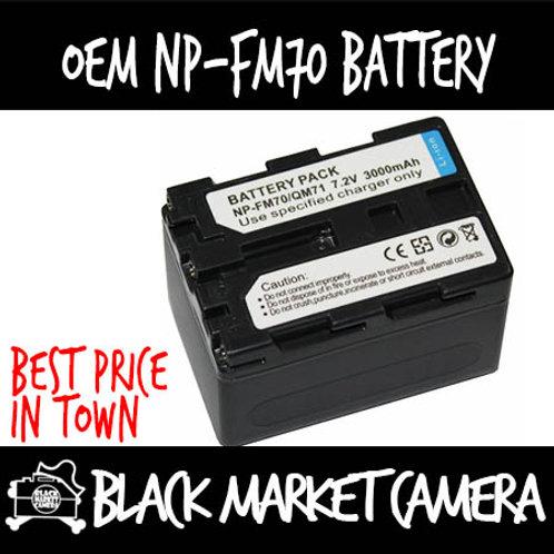 OEM NP-FM70 Battery