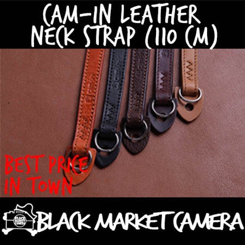 Cam-in Leather Neck Strap