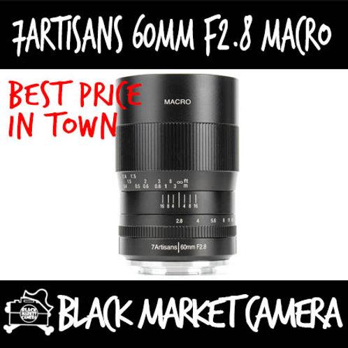 7Artisans 60mm F2.8 Macro APSC Nikon Z Mount
