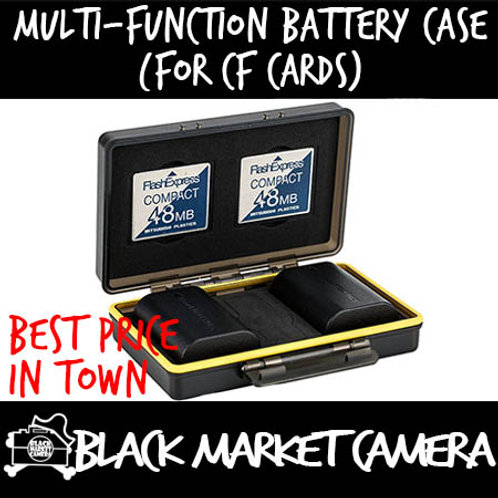 JJC Multi-Function Battery Case (For CF Cards)