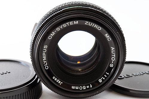 Olympus OM 50mm F1.8 Zuiko MC Auto-S (used)