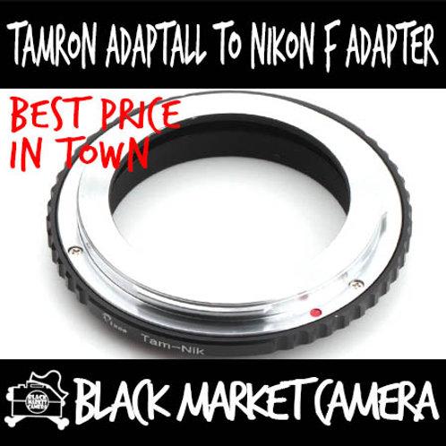 Tamron Adaptall Lens to Nikon F Body Adapter (MACRO Only)