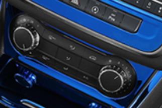 Mercedes Benz Aircon control cover trim  cla/gla/a-silver