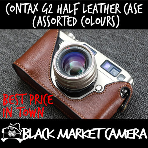 Funper Contax G2 Half Leather Case