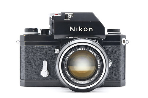 Nikon F Photomic FTn SLR Black (used) *Extremely Rare BLACK collector's item