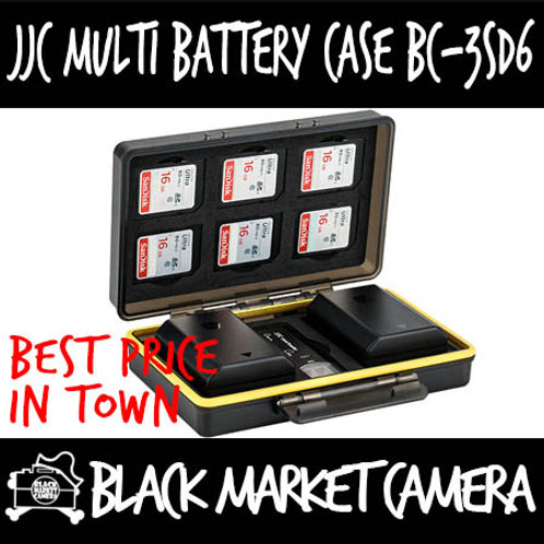 JJC BC-3SD6 Multi-Function Battery Case (6x SD)