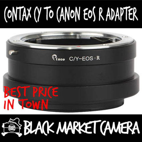 Contax CY to EOS R Mount Lens Adapter