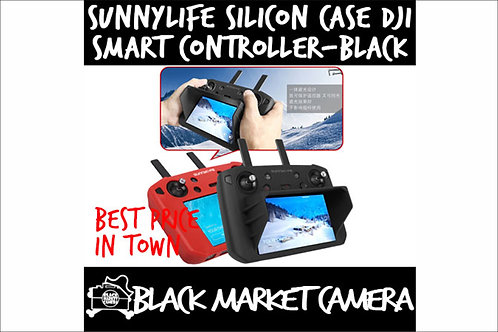 Sunnylife Silicon Case DJI Smart Controller with/without Hood - Black