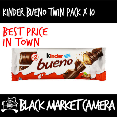 Kinder Bueno Chocolate (Bulk Quantity, 30 Packets x 43g)