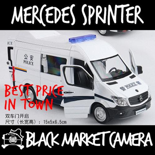 Miniature 1:36 Mercedes Sprinter Police Model